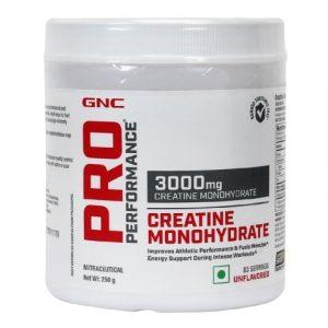 Best Creatine Monohydrate Supplements GNC Pro Performance Creatine Supplement (Creatine Monohydrate)
