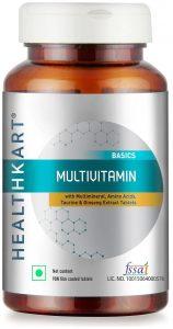 BEST MULTIVITAMINS IN INDIA (2020) HealthKart Multivitamin – 60 Tablets