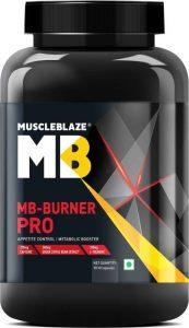 BEST MULTIVITAMINS IN INDIA MuscleBlaze MB Burner PRO Fat Burner