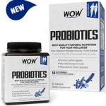 9-WOW Probiotics 20 Billion CFU (14 Probiotic Strains) 500mg - 60 Vegetarian Capsules